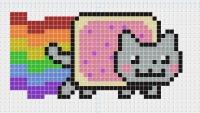 Схемы пиксель-артов.