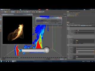 Cinema 4d tutorial turbulenceFD for beginners part 3
