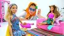 Видео для девочек - Барби на конкурсе красоты - Игры в куклы
