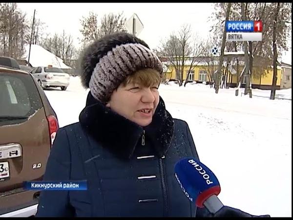 Переход на новую систему вывоза ТБО в Кикнурском районе(ГТРК Вятка)