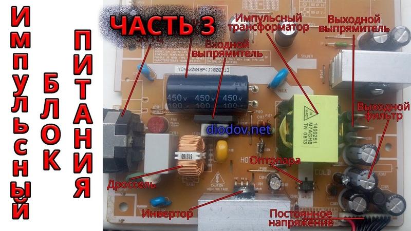 Как работает импульсный блок питания   Часть 3   Сверхпроводники в деле