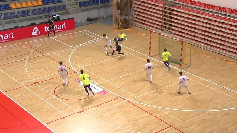 Alga Bishkek - Piast Gliwice 4:1 (Futsal masters-2018