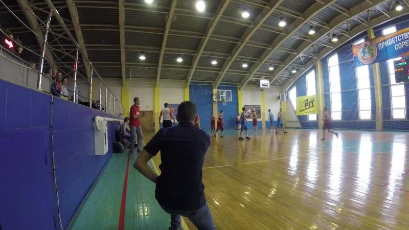 Юниор-Алтай баскет 1 период середина