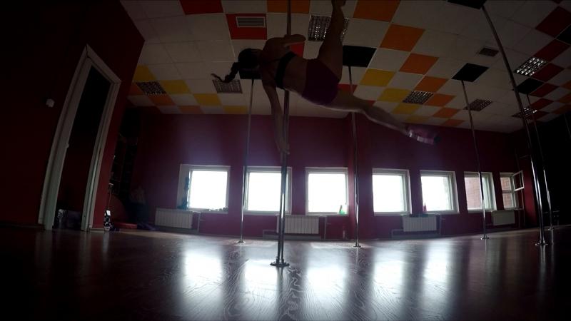 EXOTIC pole dance Lena Shershova