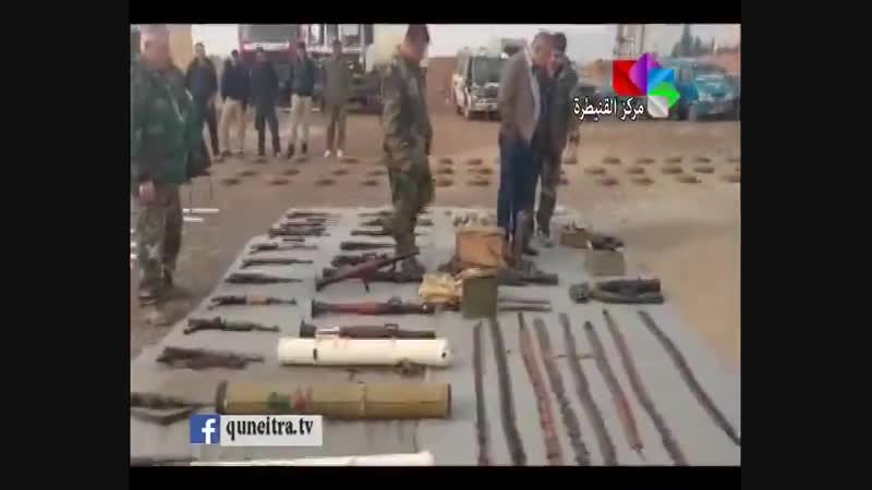 Weapons ammunition America made communications equipment vehicles used by militants Is