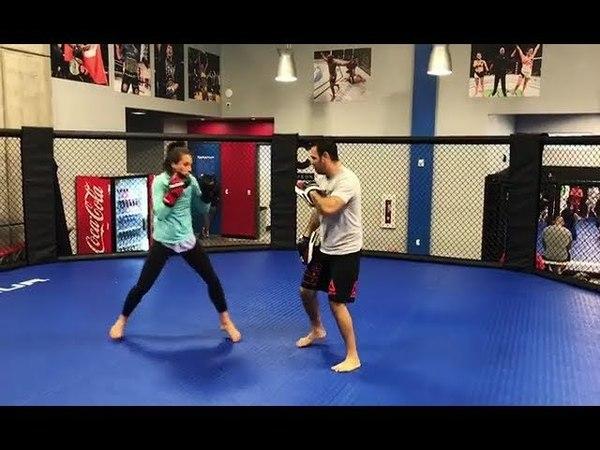 Joanna Jedrzejczyk Training 31 05 18
