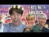 [Озвучка by Cara Linne ][КРЯК] BTS в Америке