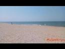 На пляже в Янтарном