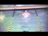 11 year old Michael Phelps wins 50 Butterfly - 1997