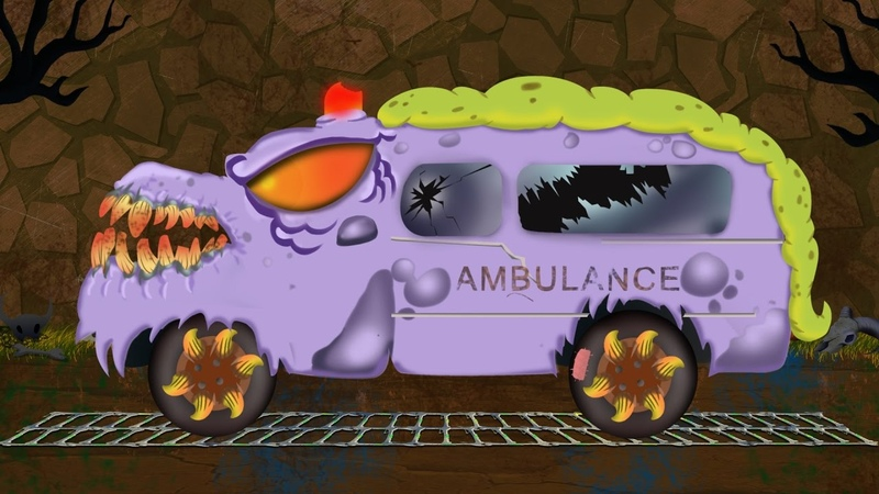 Scary ambulance | formation and uses | Halloween video for kids