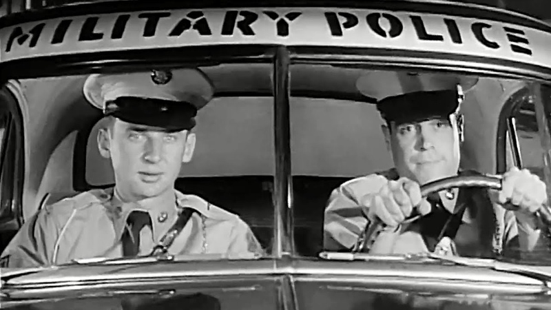 Military Police (MP) Town Patrol 1955 US Army; The Big Picture TV-325; MPs in Augusta, Georgia