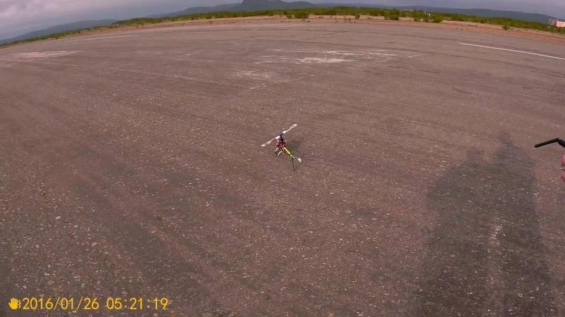 TAROT 450 6S аэродром 4 полет