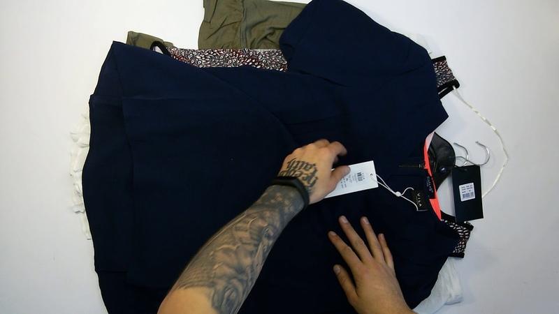 Sisters Point, Fransa, Vila Ladies Blouses-T-Shirts (15 PCS) 5пак - женские блузки сток Sisters Point, Fransa, Vila