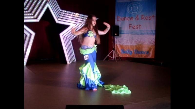 Охременко Виктория_ориентал_3лига_юниоры DanceRest Fest 30 июня 2018 г. Ялта студиявосточноготанцаграциясимферополь
