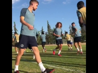Training is underway in greece! - - paok