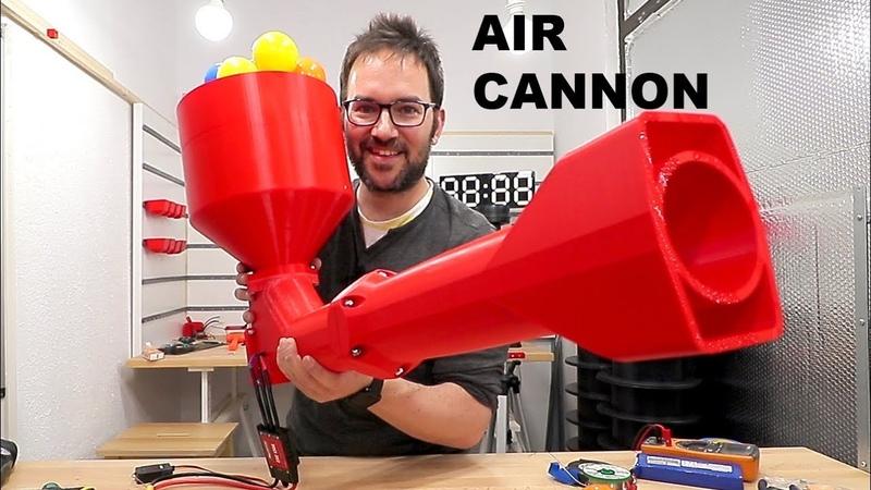 3D PRINTED AIR CANNON