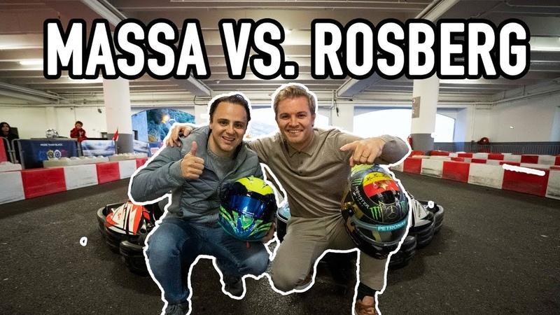 MASSA VS ME BROKEN RIBS GO KARTS NICO ROSBERG eVLOG