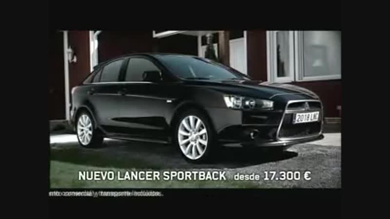 65. Mitsubishi Motors - Nuevo anuncio Lancer Sportback⁄TV commercial
