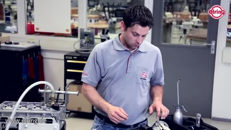 Технология замены маслосъемных колпачков Elring nt[yjkjubz pfvtys vfckjc]tvys[ rjkgfxrjd elring