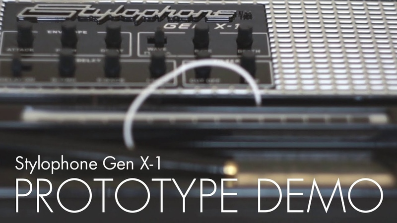 Dubreq Stylophone Gen X-1 Synthesizer Demo