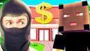 Воры ОГРАБИЛИ Банк в МАЙНКРАФТЕ! Minecraft Приколы