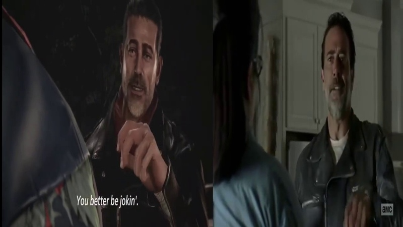 Tekken 7 Negan Trailer References Side by Side (Contains Spoilers)