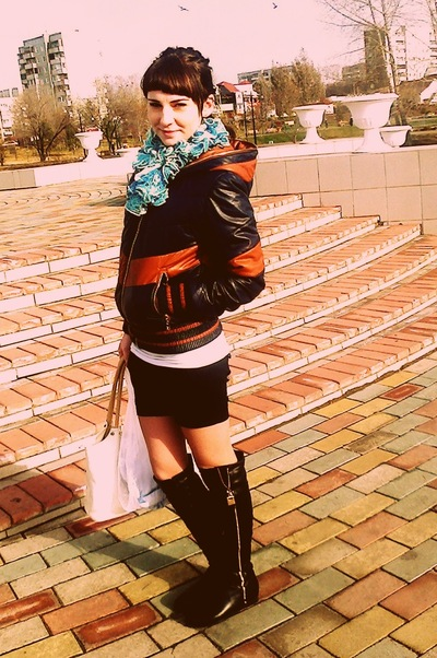 Мариночка Николаевна, 20 июля 1995, Абакан, id215594668