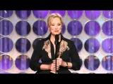 Meryl Streep - Golden Globe Best Actress Speech 2012 - Iron Lady