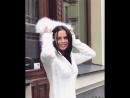 Мой белоснежный кашемировый кардиган с опушкой из натурального меха от Maison 🍂🍃🍂🍃 Доставка по всему миру домой 🍃🍂🍂