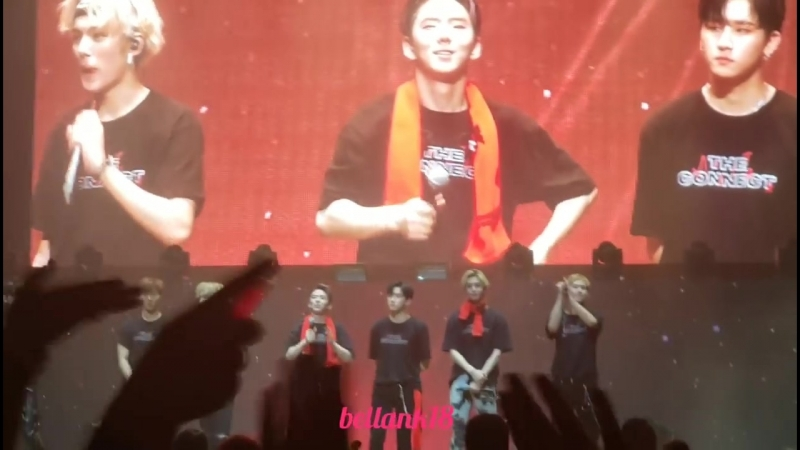 VK 22 07 18 Fancam The 2nd World Tour The Connect In Newark Encore stage ending VCR