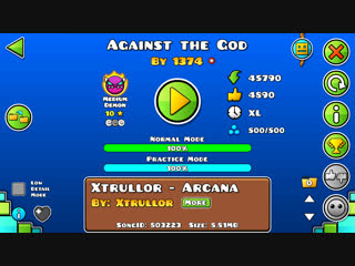Geometry Dash-Against The God By 1374