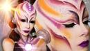 Alien Makeup Maquillaje de extraterrestre Halloween Celhelíz