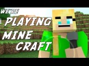 "♪ ""We're Playing Minecraft"" - A Minecraft Parody of Kesha's Die Young (Music Video)"