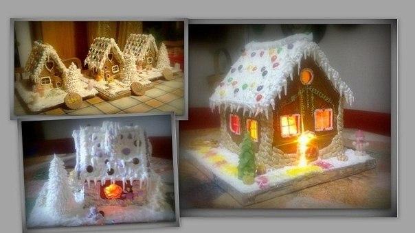 новогодняя игрушка домик своими руками фото Сайт самоучек