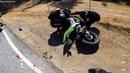 Аварии мотоциклистов.