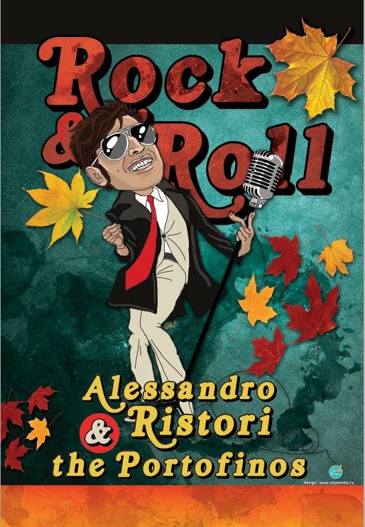 26/27/28.09 Alessandro Ristori & the Portofinos в Санкт-Петербурге!
