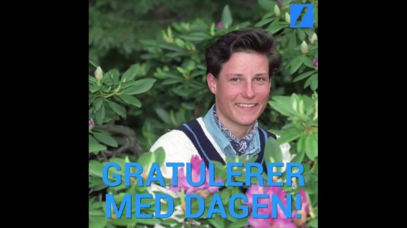 Gratulerer med dagen Kronprins Haakon 🎉