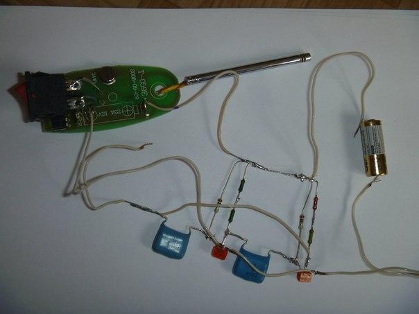 Схема глушилки автосигнализации своими руками фото 759