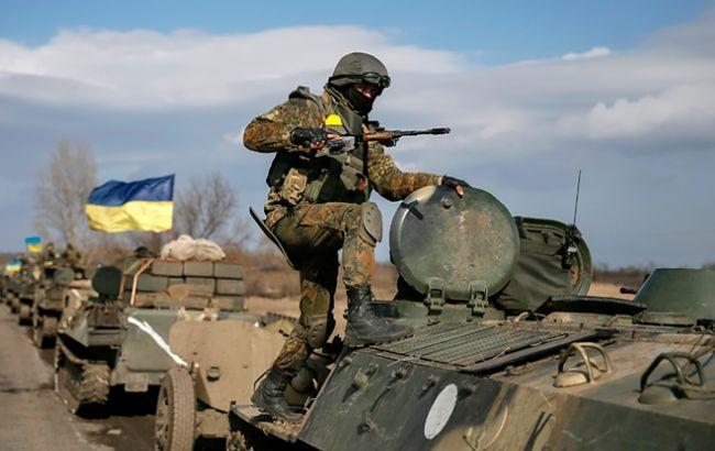 Террористы обстреляли из 122-мм артиллерии наши позиции в Авдеевке, Семигорье, Кодеме и Каменке, - пресс-центр штаба АТО - Цензор.НЕТ 992