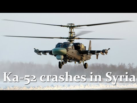 Russian copter Ka-52 crashes in Syria, pilots killed