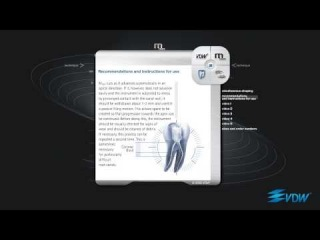 VDW Mtwo: Root Canal Preparation