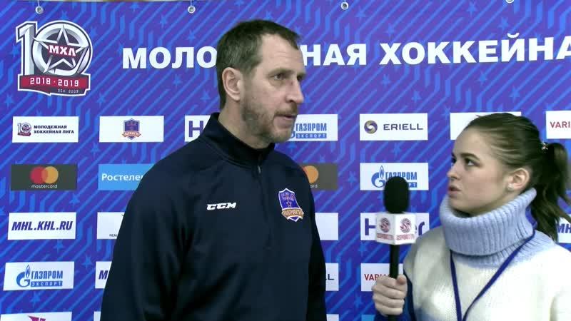 Лев Бердичевский о матче СКА-Варяги - МХК Спартак - 23ОТ