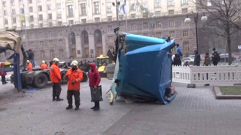 Очередное злодеяние Путина в Киеве