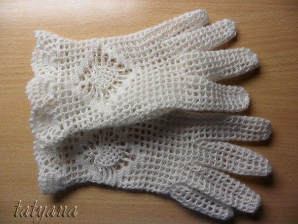 Страница Ажурные перчатки