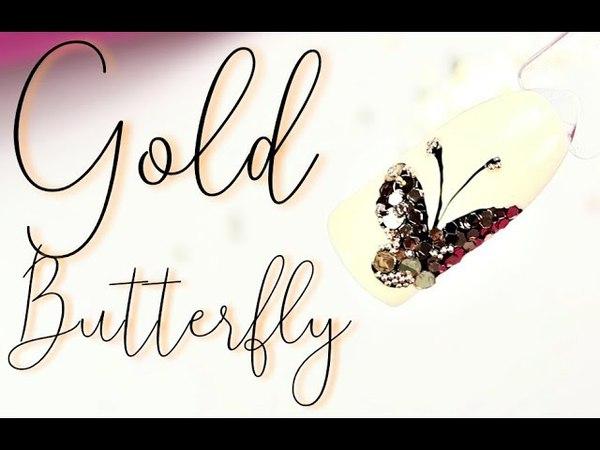 💅Mix Media💅 :: Gold Butterfly Nailart :: Ozdoby Indigo - Nowości :: Odette Swan