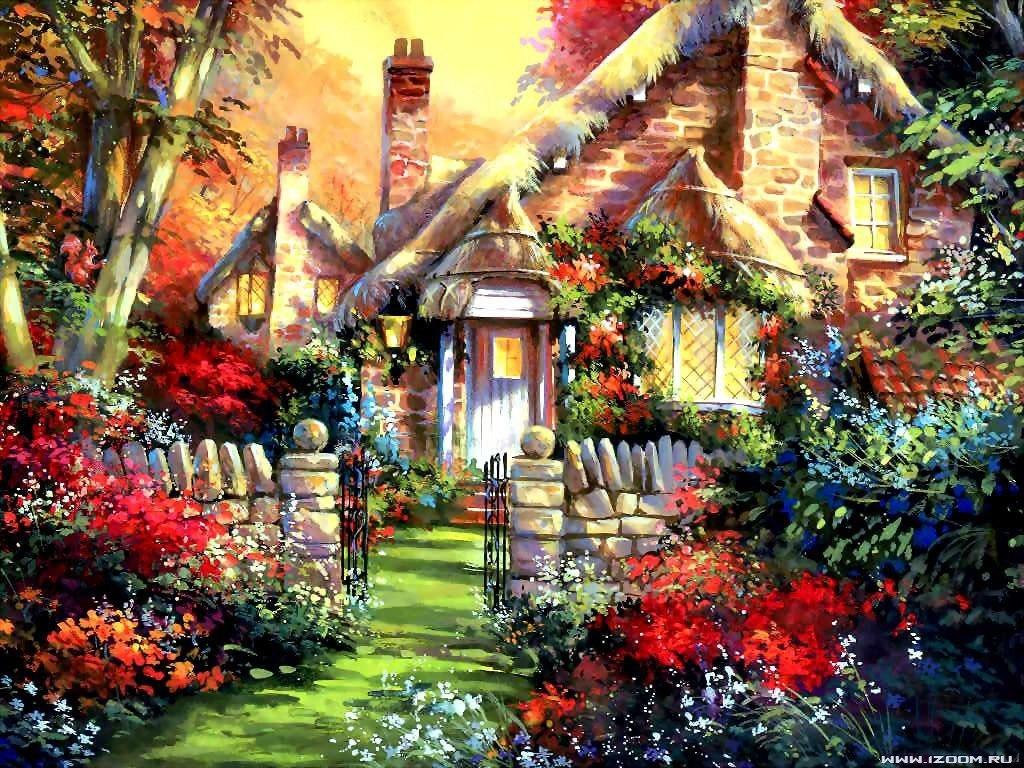 Дом — это там, где ждут тебя дружба и вера, любовь и жизнь.