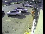 Авария Мотоцикла в Губкине / НОВЫЕ ВИДЕО ДТП и АВАРИЙ 2013