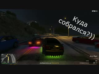 GTA 5 Online. Забавные моменты с гонок))