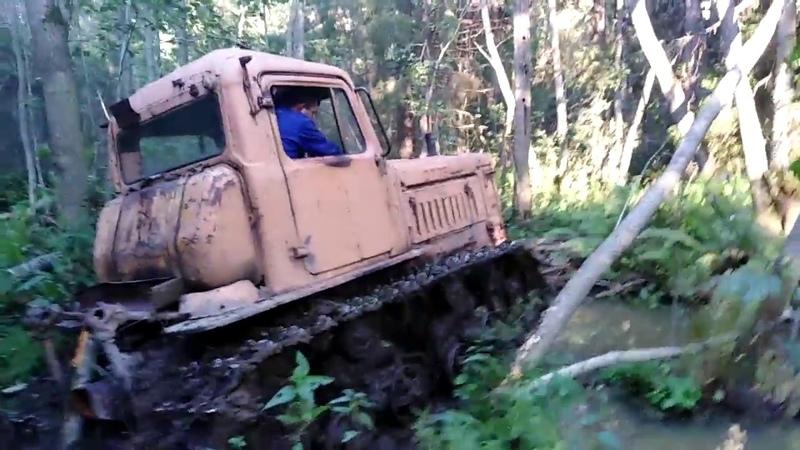 Утопили УАЗ Дизель пришёл на подмогу ))
