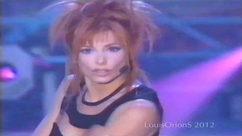 Mylène Farmer - Sans Contrefaçon (Live At The Show Les Années Tubes, Channel TF118.05.1996)